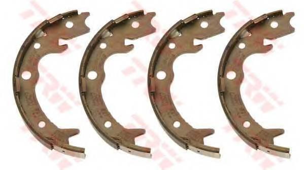 Тормозные колодки Тормозные колодки барабанные ABE арт. GS8697