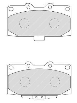 Тормозные колодки Тормозные колодки дисковые PAGID арт. FDB1982