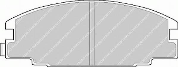 Тормозные колодки Тормозные колодки Ferodo ABE арт. FDB678