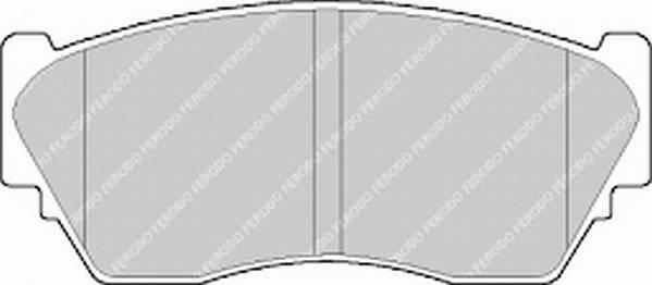 Тормозные колодки Тормозные колодки Ferodo ABE арт. FDB763