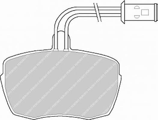 Тормозные колодки Тормозные колодки дисковые PAGID арт. FVR543