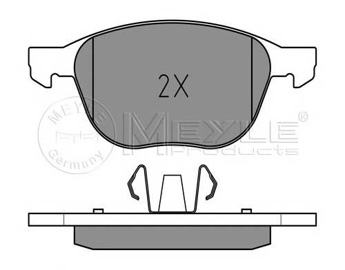 Тормозные колодки Тормозные колодки дисковые PAGID арт. 0252372318