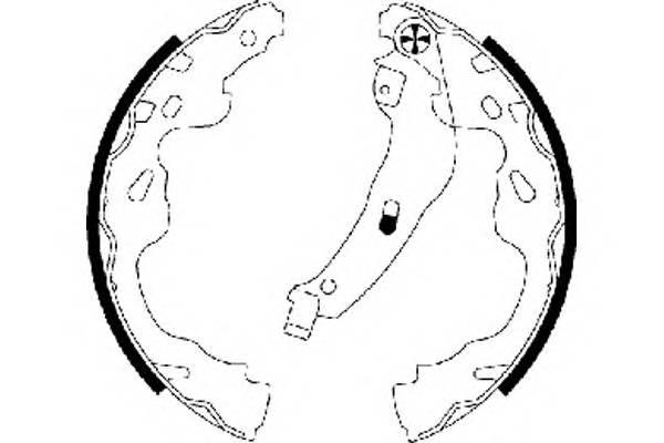 Тормозные колодки Тормозные колодки PAGID арт. H9815