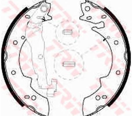 Тормозные колодки Тормозные колодки барабанные PAGID арт. GS8524