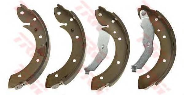 Тормозные колодки Тормозные колодки барабанные ABE арт. GS8528