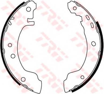 Тормозные колодки Тормозные колодки барабанные ABE арт. GS8529