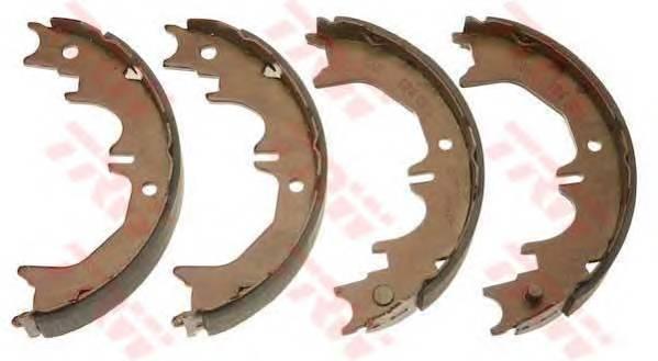 Тормозные колодки Тормозные колодки барабанные ABE арт. GS8716