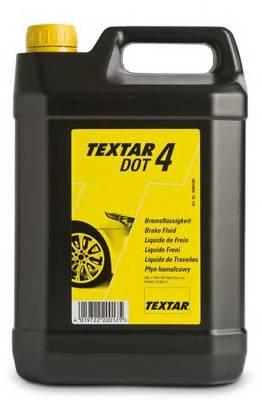 Тормозная жидкость 5л (DOT 4) TEXTAR TEXTAR 95002300