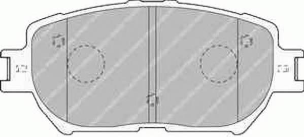 Тормозные колодки Тормозные колодки Ferodo ABE арт. FDB1620