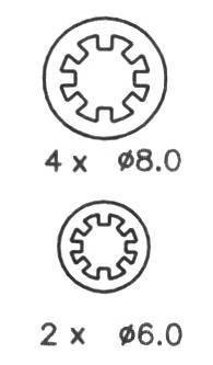 Тормозные колодки Тормозные колодки барабанные Ferodo ABE арт. FSB535