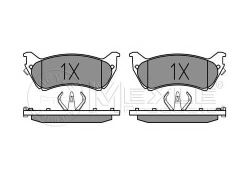 Тормозные колодки Тормозные колодки дисковые PAGID арт. 0252318917W