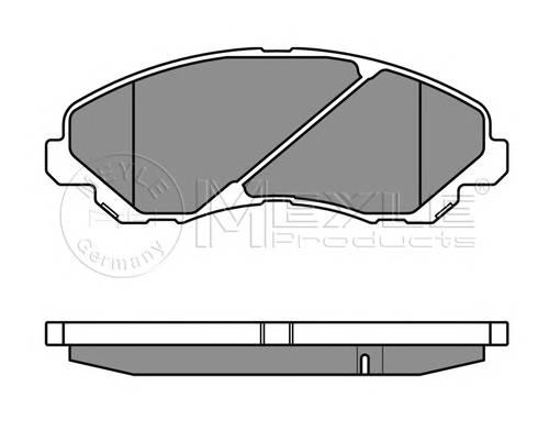 Тормозные колодки Тормозные колодки дисковые PAGID арт. 0252358416W
