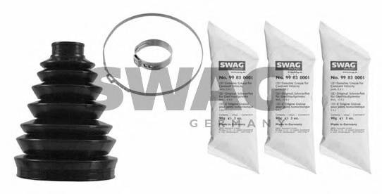 Пильник ШРУС пластиковий  змазка SWAG 62918577