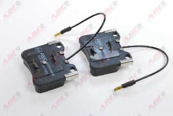 Гальмівні колодки, дискові ABE арт. C1C016ABE