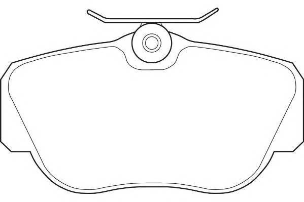 Тормозные колодки Тормозные колодки Wagner PAGID арт. WBP21055A