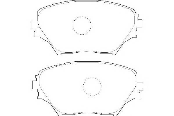 Тормозные колодки Тормозные колодки Wagner PAGID арт. WBP23585A