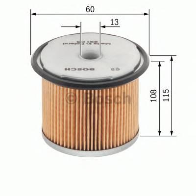 Топливные фильтры Топливный фильтр диз BOSCH арт. 1457431365