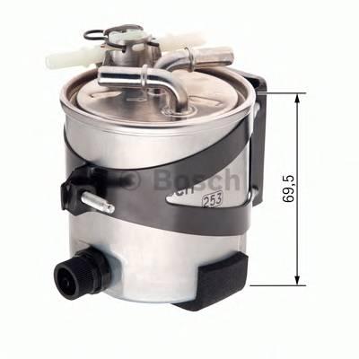 Топливные фильтры Топливный фильтр BOSCH арт. F026402061