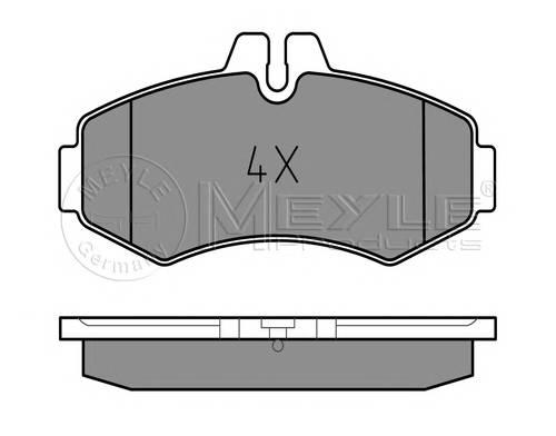 Тормозные колодки Тормозные колодки дисковые PAGID арт. 0252302220