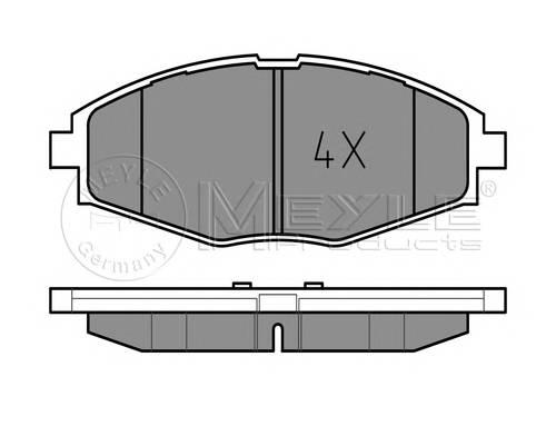 Тормозные колодки Тормозные колодки дисковые PAGID арт. 0252324117
