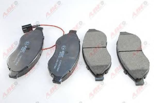 Гальмівні колодки, дискові ABE арт. C1F057ABE