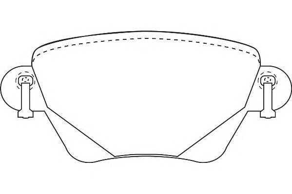 Тормозные колодки Тормозные колодки Wagner PAGID арт. WBP23557A