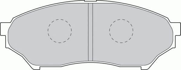 Тормозные колодки Тормозные колодки Ferodo ABE арт. FDB1596