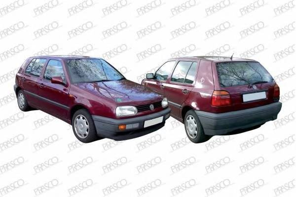 Защита двигателя / VW Golf-III, Vento (дизель) 92~98 PRASCO VW0321900