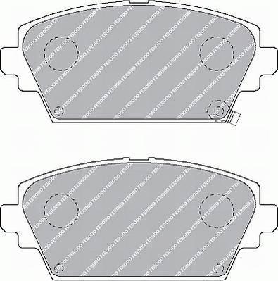 Тормозные колодки Тормозные колодки дисковые ABE арт. FDB1439