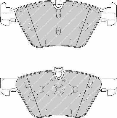 Тормозные колодки Тормозные колодки Ferodo ABE арт. FDB1773