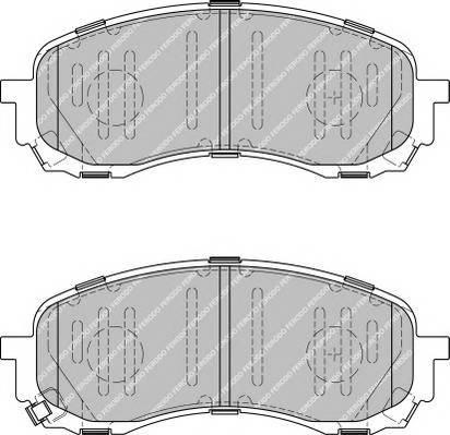 Тормозные колодки Тормозные колодки дисковые ABE арт. FDB1863