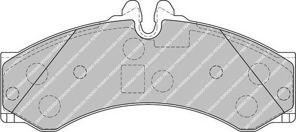 Тормозные колодки Тормозные колодки дисковые PAGID арт. FVR1879