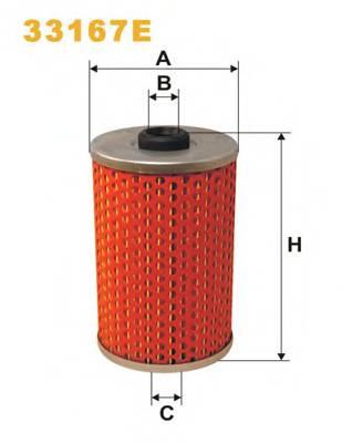 Фильтр топливный (PM 813/1) BOSCH арт. 33167E