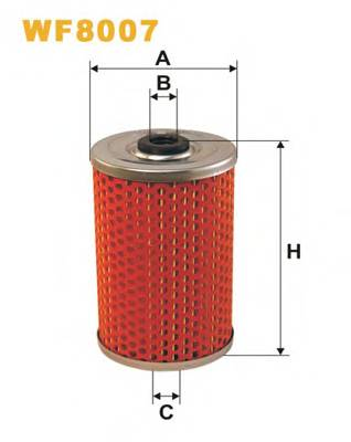 Фильтр топливный (PM 807) BOSCH арт. WF8007