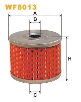 Фильтр топливный (PM 815) BOSCH арт. WF8013
