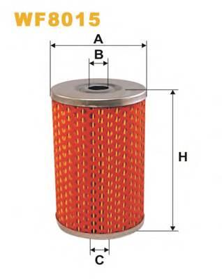 Фильтр топливный (PM 816) BOSCH арт. WF8015