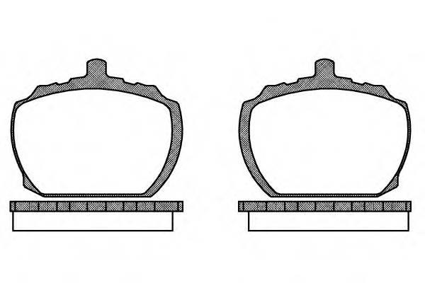 Тормозная система Гальмiвнi колодки, к-кт. PAGID арт. 205810