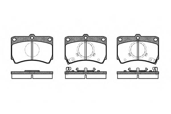 Тормозная система Гальмiвнi колодки, к-кт. PAGID арт. 221202