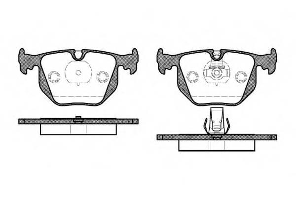 Тормозная система Гальмiвнi колодки, к-кт. PAGID арт. 238120
