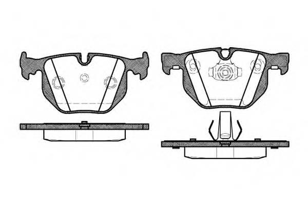 Тормозная система Гальмiвнi колодки, к-кт. PAGID арт. 238140