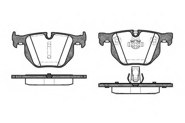 Тормозная система Гальмiвнi колодки, к-кт. PAGID арт. 238160