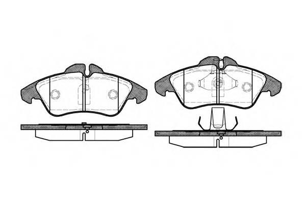 Тормозная система Гальмiвнi колодки, к-кт. PAGID арт. 257800