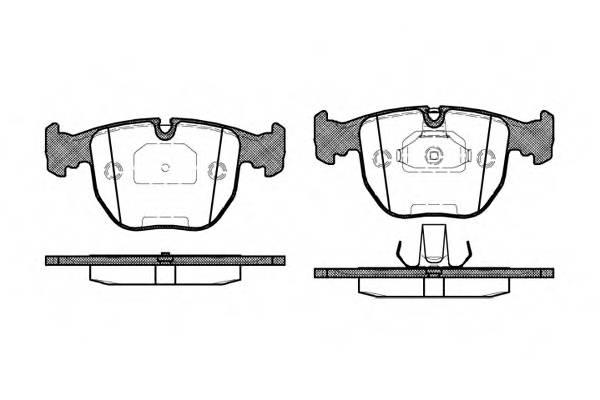 Тормозная система Гальмiвнi колодки, к-кт. PAGID арт. 259600