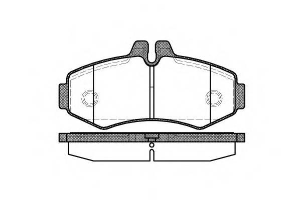 Тормозная система Гальмiвнi колодки, к-кт. PAGID арт. 270100