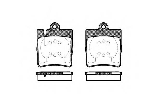 Тормозная система Гальмiвнi колодки, к-кт. PAGID арт. 270910