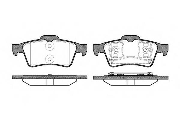 Тормозная система Гальмiвнi колодки, к-кт. PAGID арт. 284200