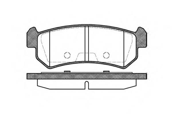 Тормозная система Гальмiвнi колодки, к-кт. PAGID арт. 2104800