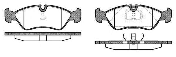 Тормозная система Гальмiвнi колодки, к-кт. PAGID арт. 228610