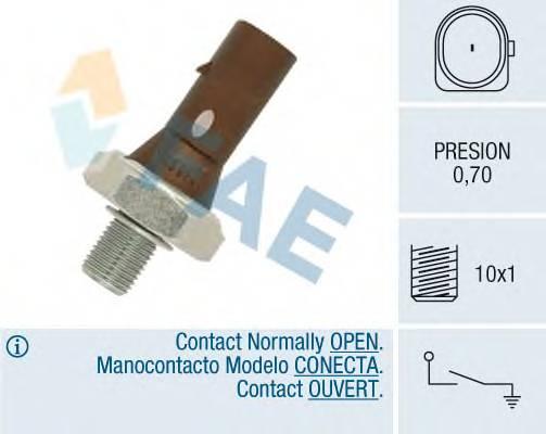 Датчик тиску масла VW 1.2TDI-2.5TDI 09.90- FAE 12890