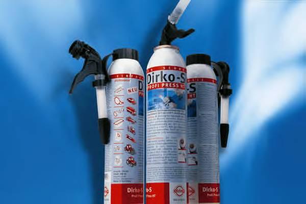 Герметики, клеи, жидкие прокладки Герметик DIRKO-S PROFI PRESS (ЧЁРНЫЙ) 200МЛ ELRING арт. 129400